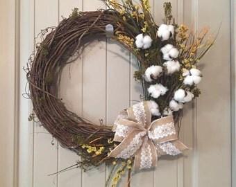 Classic Primitive Vine Wreath