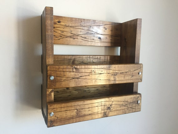Rustic/ Industrial menu rack