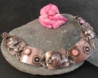 Danish Sterling Silver Modernist bracelet