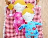 SALE Asleep Awake Doll - Easy to Follow Digital Sewing Pattern with Step-By-Step Photos