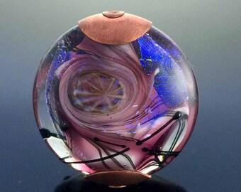Jeff Barber Glass Art Focal Bead