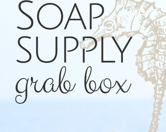 Soap Supply Grab Box - Loads of Items, Box Will Be Filled to the Brim, Soap Supplies