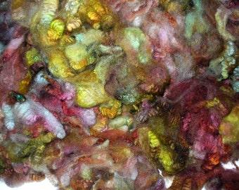 Border Leicester X Coopworth Fleece for Hand Spinning Knitting Crochet Felting Needle Felting