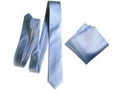 Powder blue silk necktie. Light blue, elegant woven men's tie. Pocket squares available too! Herringbone silk.