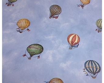 35% OFF CRAZY SALE- Hot Air Balloon Wallpaper-Scrapbooking-gift wrap-decor