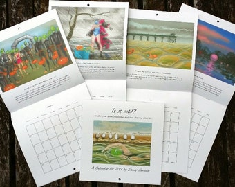 Quantity discount: two or more Swimming calendars for 2017  by Nancy Farmer
