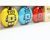 magnet set of robots. (3pk)