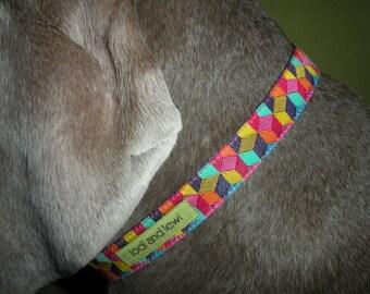 Tumble Collar in Bright Multi