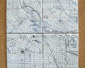 Minneapolis Map Coasters