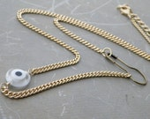 safety pin necklace, talisman necklace gold, evil eye choker, evil eye necklace gold, talisman jewelry