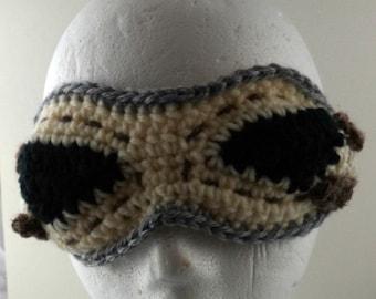 Crocheted Goggles Headband - The Scavenger (SWG-HH-GGSCAV01)