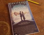Princess Bride Journal Spiral Sketchbook Notepad Blank Paper Classic Comedy Movie Fun