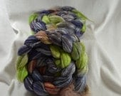 SALE 20% OFF   Yarn Hollow Hand Dyed Merino Superwash Bamboo Nylon - Panda - Vivienne II Multi Color