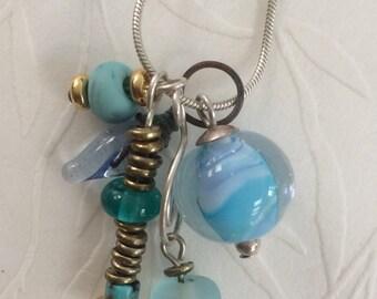 Ocean Trinket Necklace
