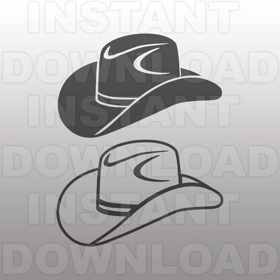 Cowboy Hat SVG File Country Western SVG Vector art