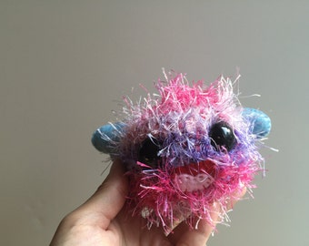Kisses - A Baby Amigurumi Monster Doll