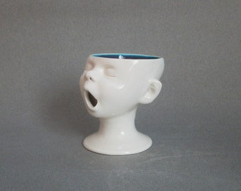 Baby Head Cup w/MOM tattoo, Ready to ship