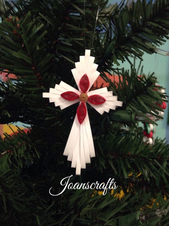 Quilled Holiday Cross