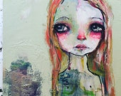 Brianna - ORIGINAL 12x12 painting on wood