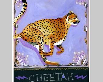 Animal Totem Print - Cheetah