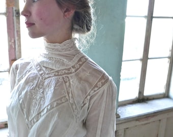 Edwardian Lingerie Dress Made by The Waldorf Size XS