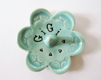 Gigi ring dish - Gift for GiGi - Keepsake Ring Dish -  Gift box included