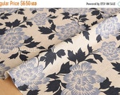 Japanese Fabric Xanthia flowers - E - 50cm