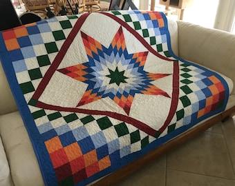 Patchwork Lap quilt #73