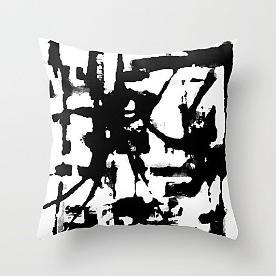 Black And White Pillow Cover Art Pillow Throw by TinaCarroll : il570xN1037220023sij3 from www.etsy.com size 550 x 550 jpeg 50kB