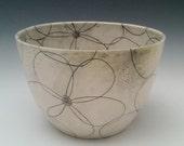 Bloom Bowl Ceramic Bowl Large Serving Bowl Centerpiece Bowl Pasta Bowl Salad Bowl