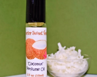 Creamy Coconut Perfume Oil Roll-On .33oz