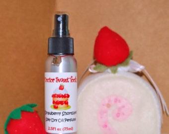 Strawberry Shortcake Silky Dry Oil Perfume