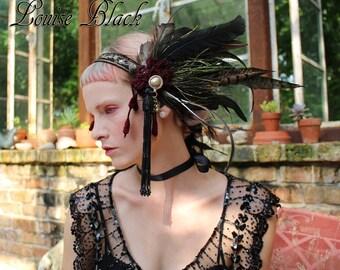Valkyrie Winged Viking Goddess Headband by Louise Black