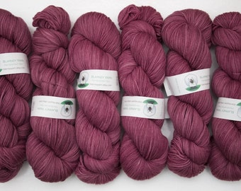 Superwash Merino Wool Sock Yarn in Rhododendron by Blarney Yarn