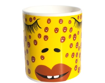 Artists Proof Freckles Limited Edition Mug