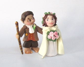 Hobbit Bride and Groom