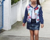 Carnival Jacket All Occasion Jacket for Children Toddlers Tweens 4 Options INSTANT DOWNLOAD PDF Sewing Pattern Sizes 3,4,5,6,7,8,9,10,11,12