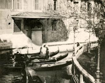 vintage photo 1915 Venice Italy 6 photo lot