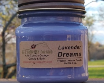 LAVENDER DREAMS CANDLE - Highly Scented