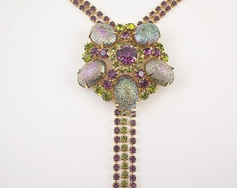 Vintage Juliana Rhinestone Necklace