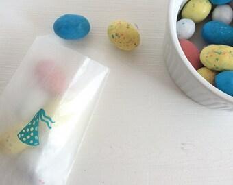party hat glassine treat bags