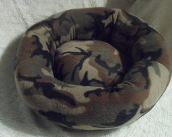 Camoflauge  - Cat or Small Dog Bed