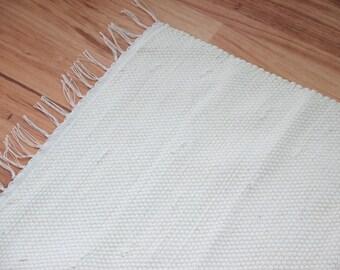 CLASSIC Woven Rag Throw Rug 150