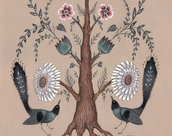 Tree Flora - Print