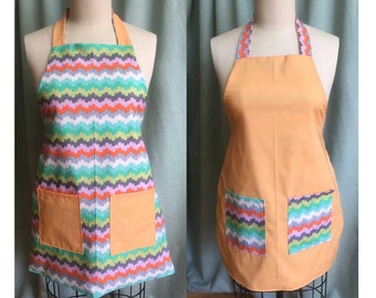 Rebecca Apron (Reversible) Sewing Pattern & Step-by-Step Tutorial