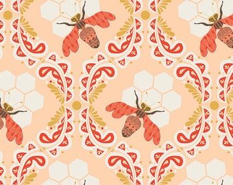 YARDS or HALF YARDS - Bee Sweet Sunset by Bonnie Christine for Art Gallery Fabrics