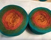 3-ply Custom Gradient Tied Cotton