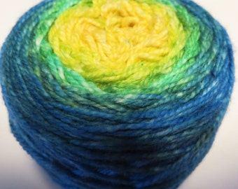 Race to the Cookie Jar Panoramic Gradient, 100g Greatest of Ease, dyed to order