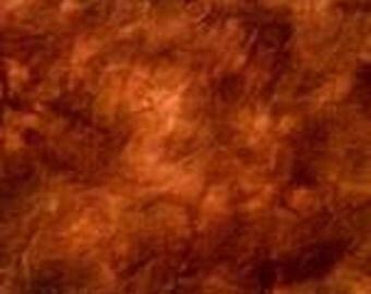 """Hand-dyed Wool Fabric - """"Kodiak"""""""