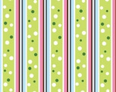 Fat Quarter - Baby Blessings Stripe